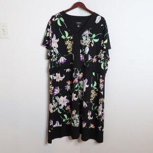 NWOT Liz Claiborne plus size black dress Size 3X